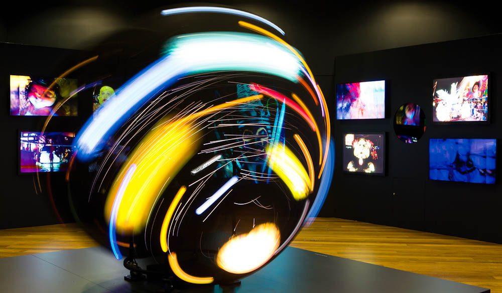 Light Fantastic, Museum of Brisbane (Atmosphere Photography)