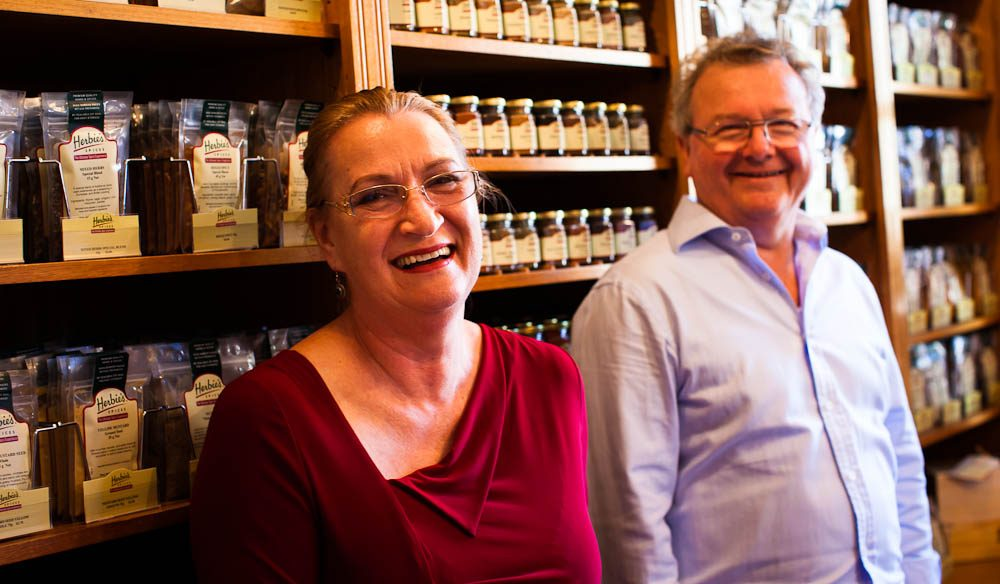 Liz and Herbie of Herbie's Spices, Rozelle