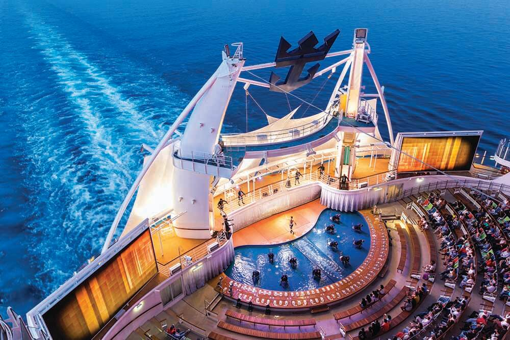 Aqua Theatre, Symphony of the Seas, Royal Caribbean Cruise Lines