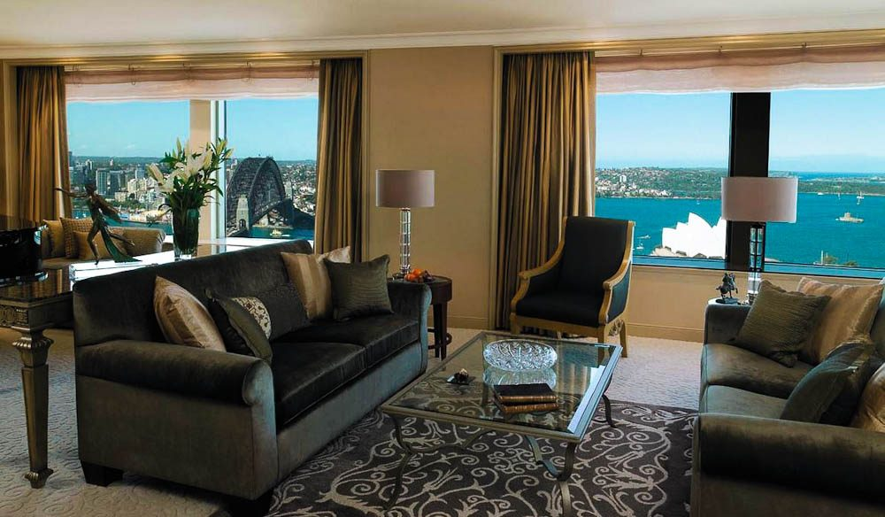 Shangri-La Sydney's Royal suite