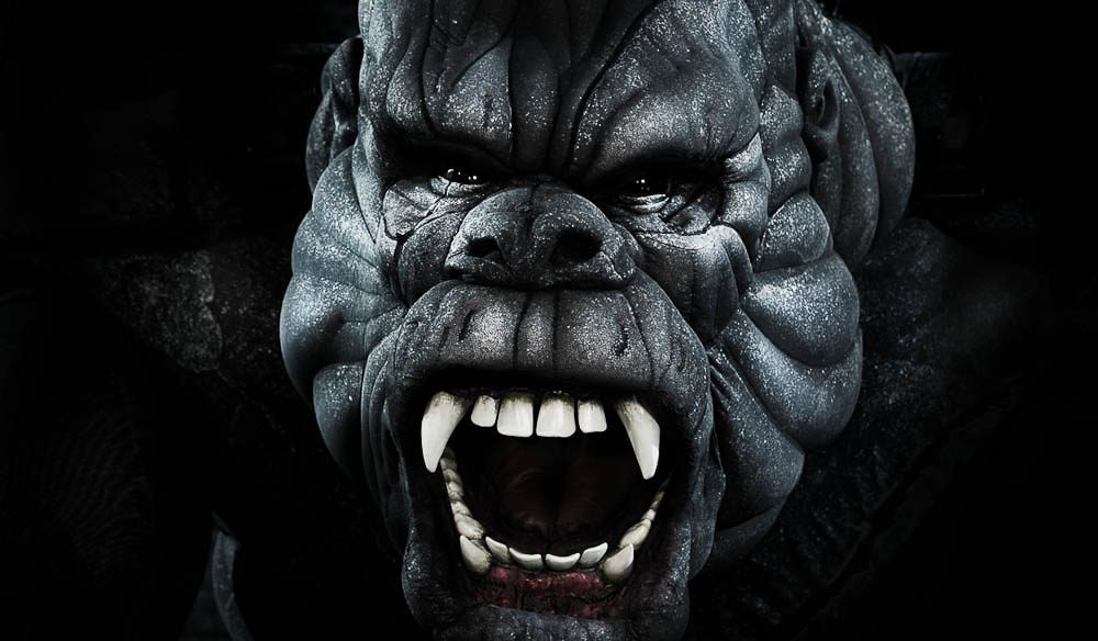 The Face of Kong comes alive (James Morgan)