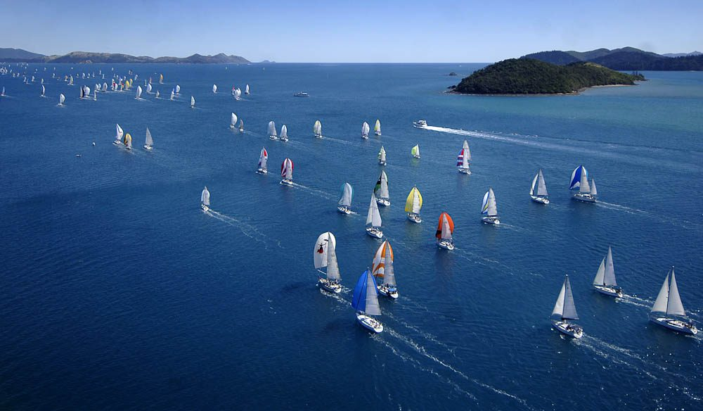 Immense regatta: Audi Hamilton Island Race Week.