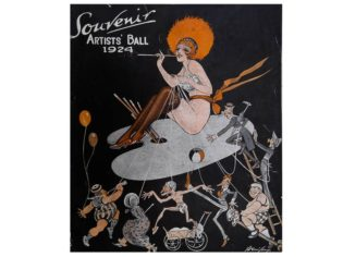 The decadence of the Sydney Artist Balls of old will be recreated for one night in the art-deco David Jones ballroom as part of History Week.