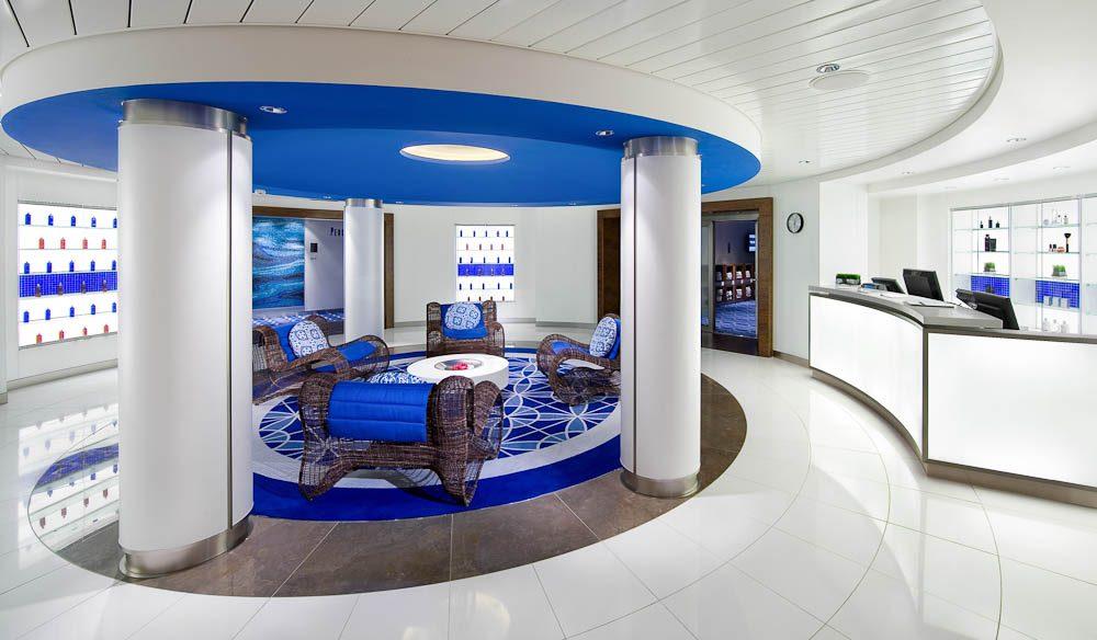 Aqua Spa, Celebrity Solstice. (cruises)