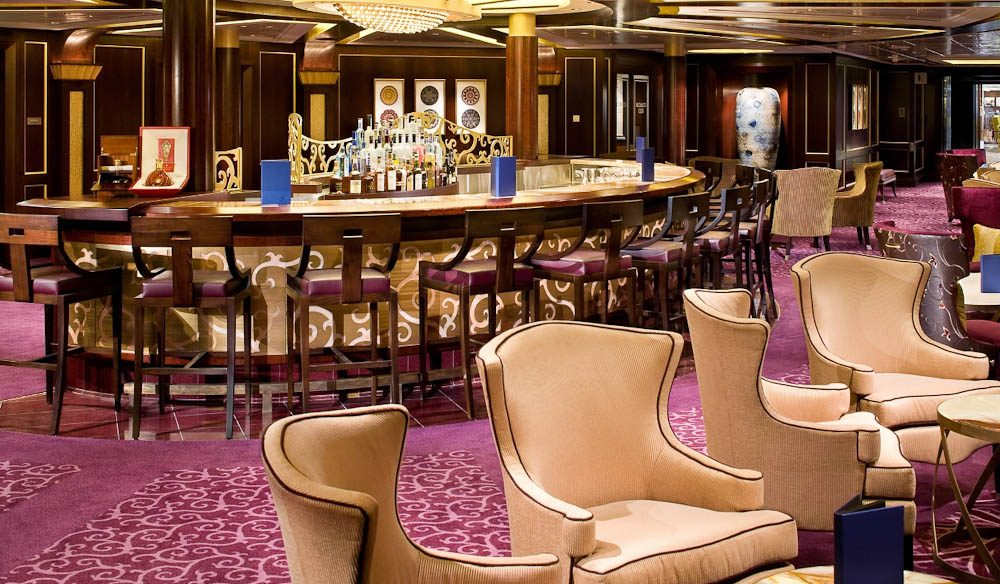 Ensemble Lounge, Celebrity Solstice. (cruises)