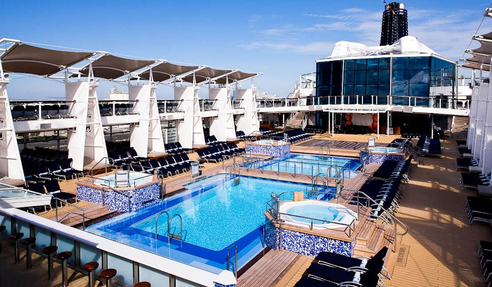 Pool Deck, Celebrity Solstice (cruises).