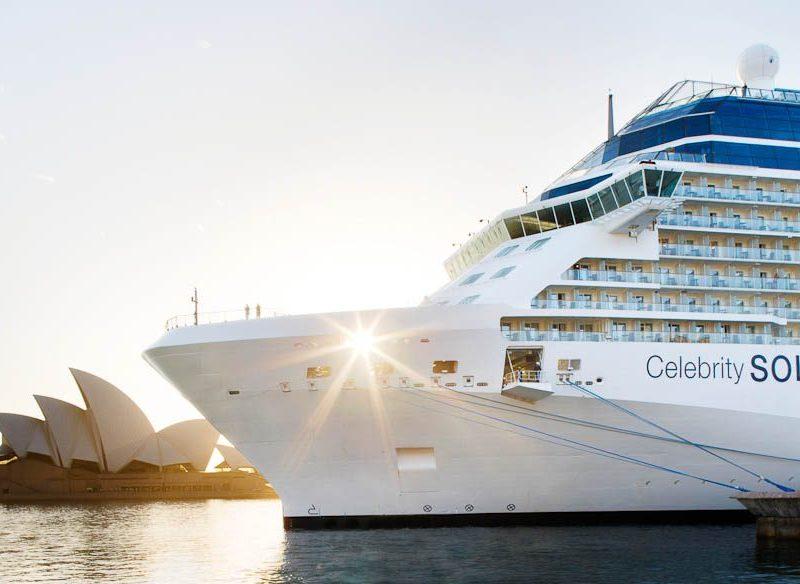 Celebrity Solstice in Circular Quay, Sydney. (cruises)