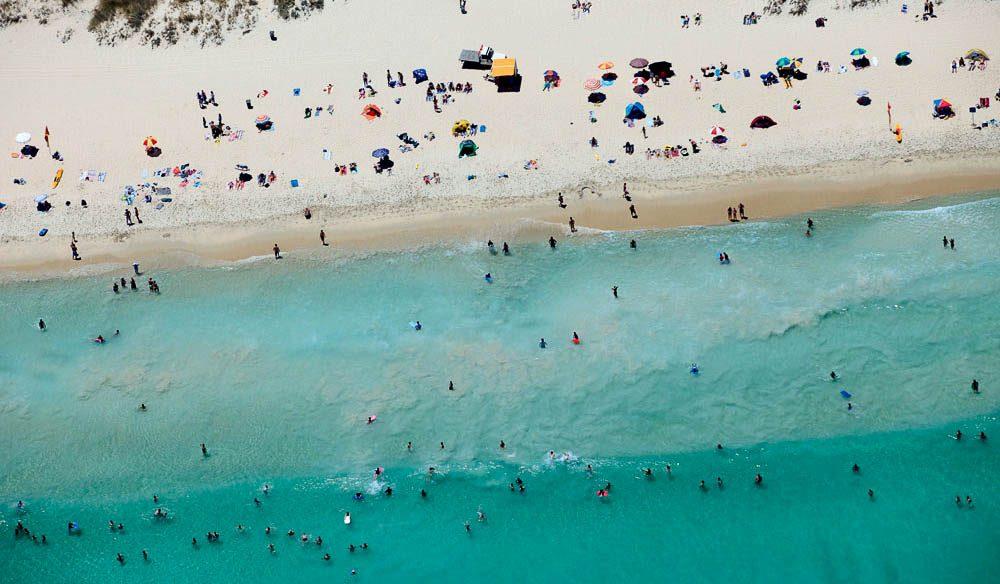 Swanbourne beach, just north  of Fremantle, Western Australia