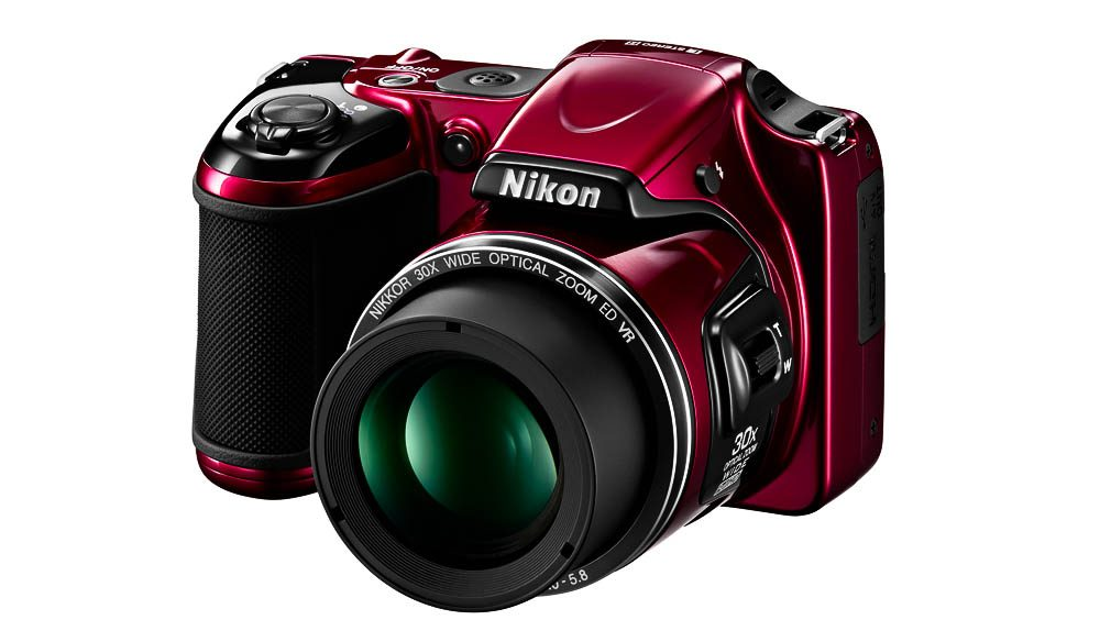 The Nikon L820: A little big for a point and shoot but a great zoom, according to Megan.