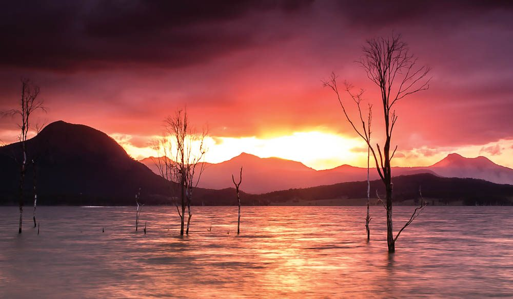 Lake Moogerah, Queensland (Clint Carter).