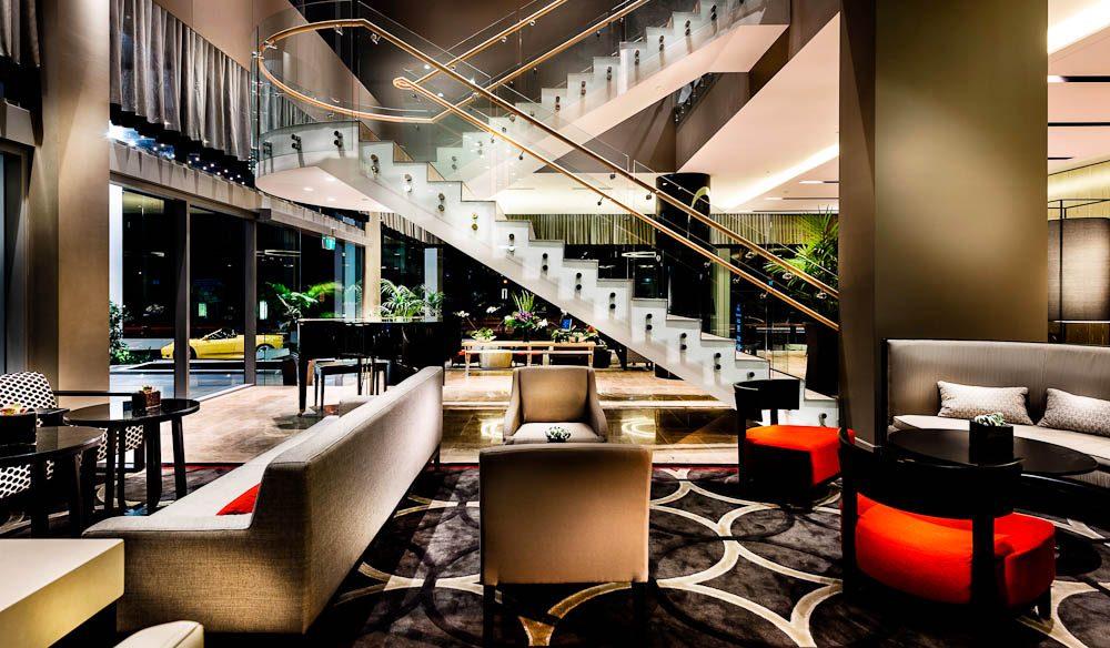Lobby, Fraser Suites, Perth.