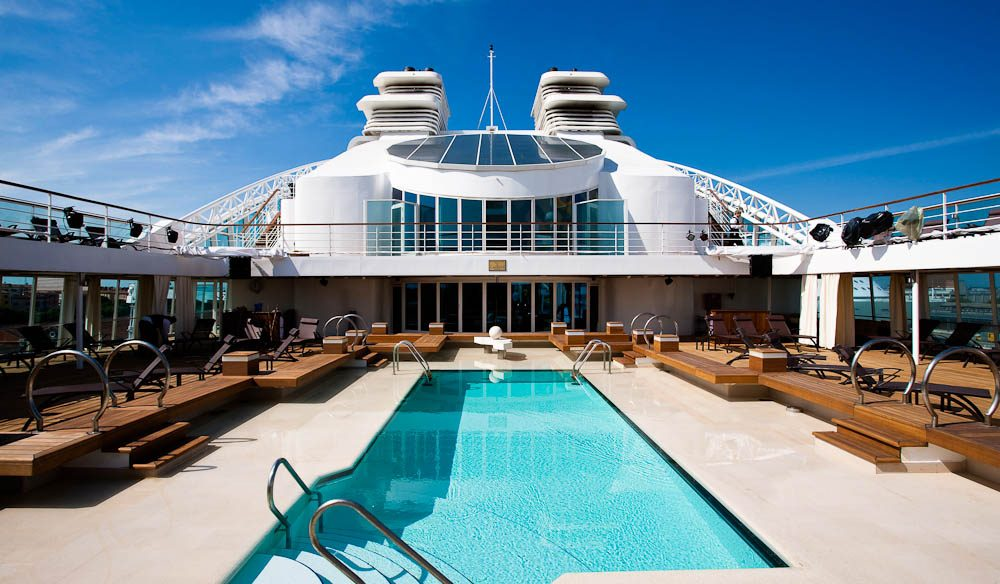 Pool Deck, Seabourn Quest