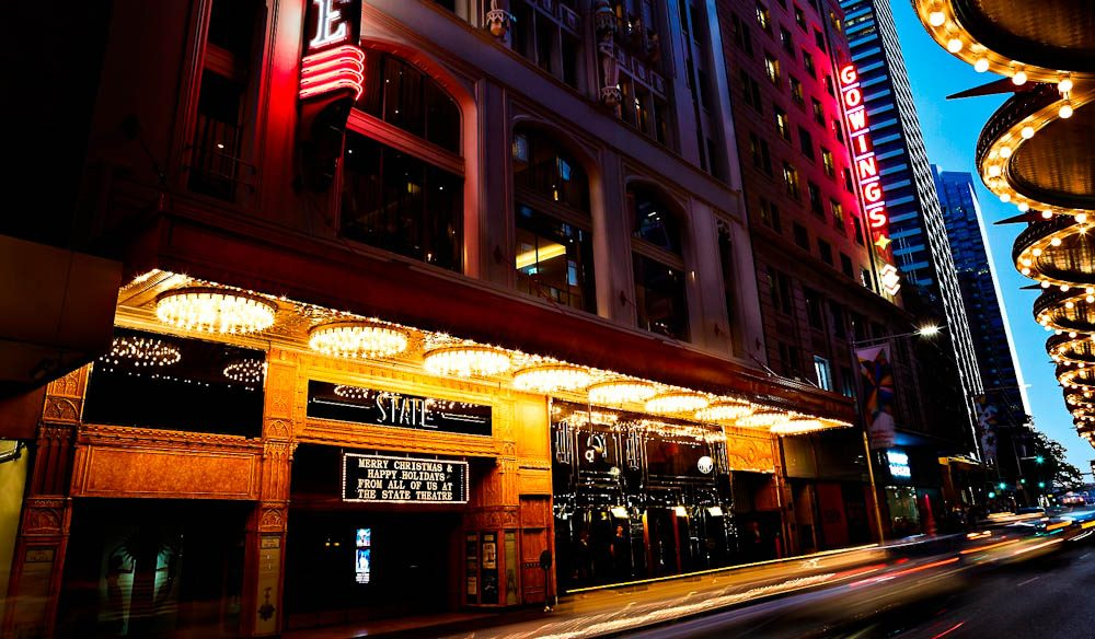 It took three years to finish restoration of the State Theatre and Gowings building, home to QT Sydney.