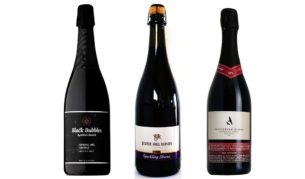 Sparkling Shiraz: Shingleback Black Bubbles, Jester Hill and Peregrine Ridge Heathcote.