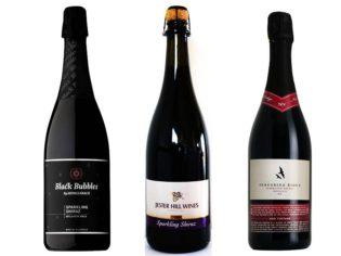 Sparkling Shiraz: Shingleback Black Bubbles, Jester Hill and Peregrine Ridge Heathcote.
