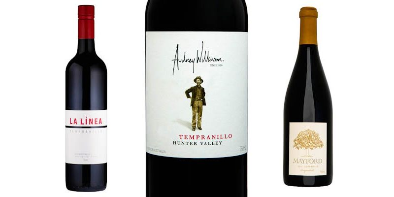 Tempranillo from La Linea, Audrey Wilkinson and Mayford Wines.