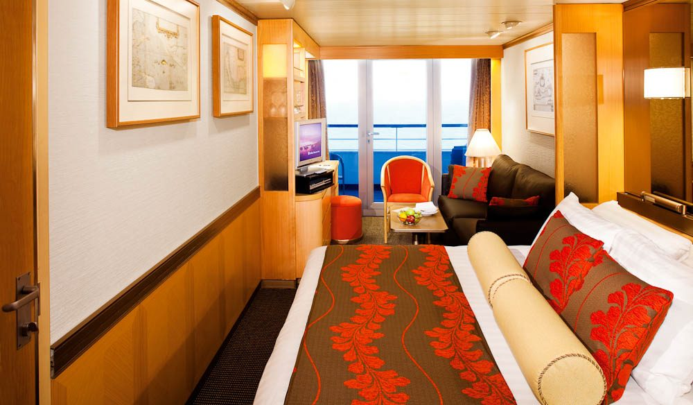 Veranda Suite on Holland America's MS Oosterdam (cruise)