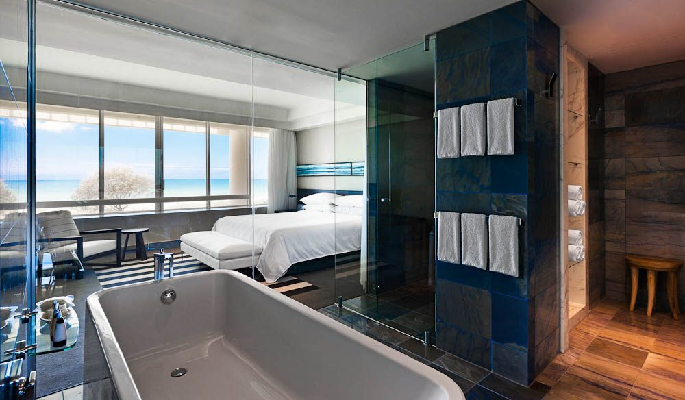 The new Royal Suite, Sheraton Mirage, Gold Coast.