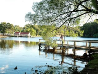 Tranquility on Lake Daylesford.