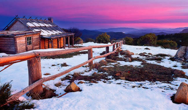 Craig's Hut from The Man From Snowy River, Mt Stirling, VIC (photo Mark-Gray)