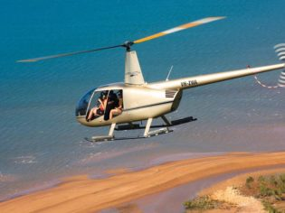 Airborne solutions on a helicopter tour of the Northern Territory's most character-filled pubs.