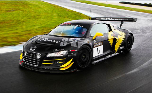 An Audi race-car experience fast lane enough for your Dad?