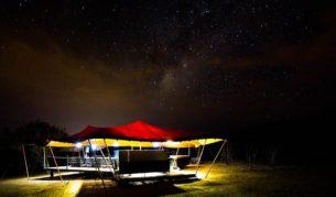 Million-star desert glamping on the Northern Territory's Larapinta Trail.