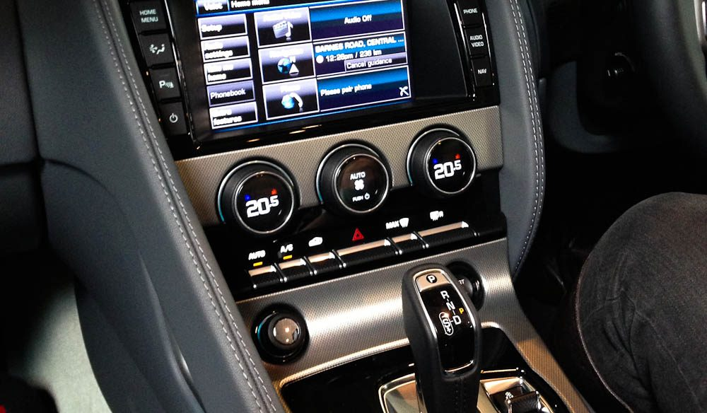 All the gadgets that come with a $130,000 car.