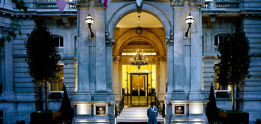 The Langham Hospitality Group's flagship property, the original Langham in London.
