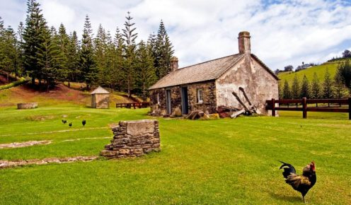 Kingston Cottage, Norfolk Island (photo: Hayley Anderson).