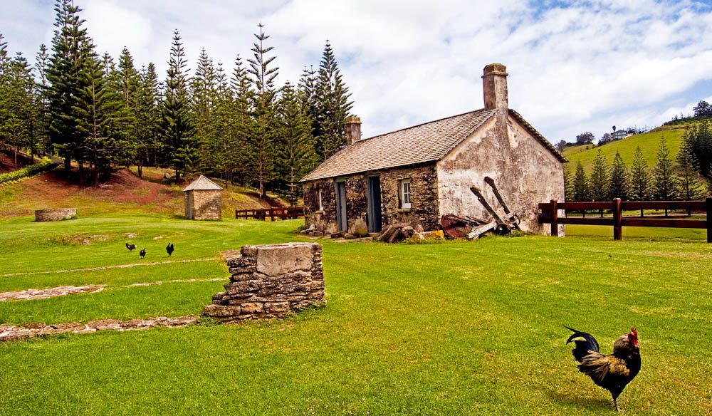 Kingston Cottage, Norfolk Island.