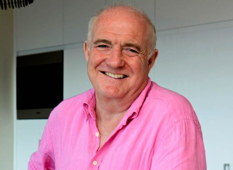 Rick Stein says he likes to relax listening to The Whitlams and loves the Aussie-style barbecue.