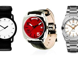TID's 'bare essentials' - Australian-inspired Bausele - One of IWC's new collection.