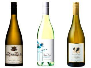 2011 Omrah Chardonnay, Great Southern, WA 2011 Hoddels Creek 1ER Chardonnay, Yarra Valley, Vic 2010 Cullen Kevin John Chardonnay, Margaret River, WA