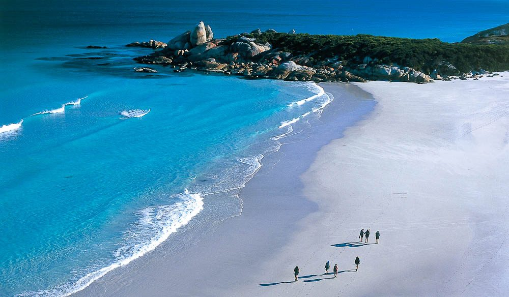 Walkers on Tasmania's Bay of Fires trail will now have a spa option waiting for them back at the lodge, as of October 2013.