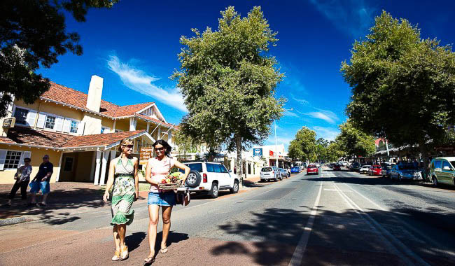 Number 6: Margaret River also made it onto Conde Nast Traveler's friendly place list.