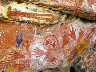 Arnhem Land's Mount Borradaile houses some of the best Indigenous rock art around.