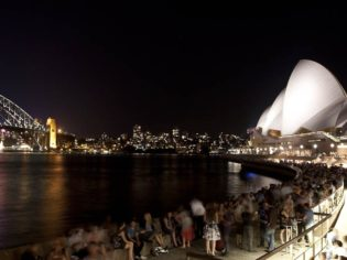 The Sydney Opera House's official opening performance (circa 1973) will be restaged - this time outside to - mark the 40th anniversary.