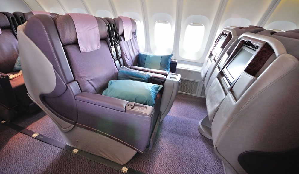 Alissa asks, is business class worth quadruple the price of an economy seat.