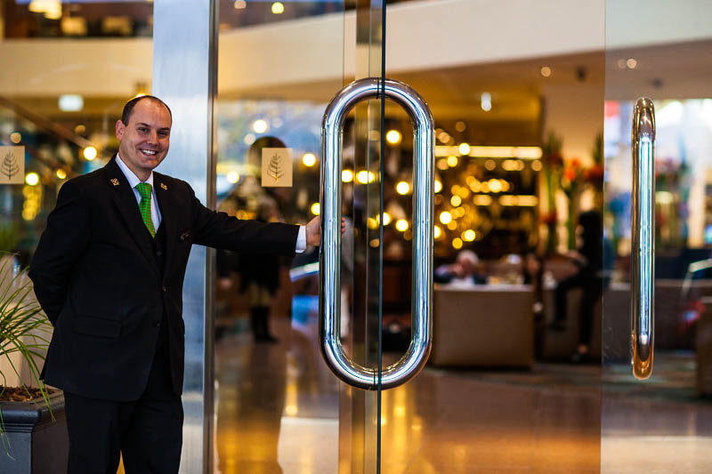 Jorge Sousa, Chief Concierge at Four Seasons Hotel, Sydney.