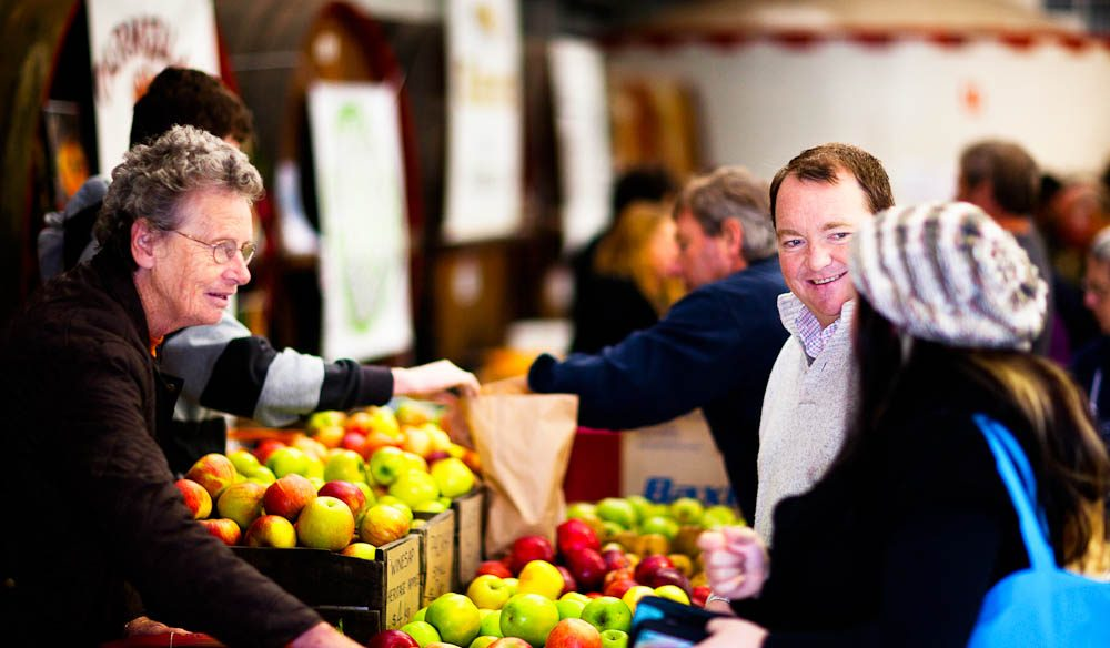 There are two farmers' markets in the Barossa Valley.