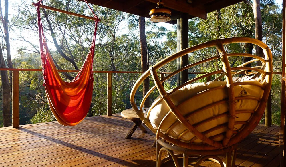 Time out from your time out on the deck at Billabong Retreat.