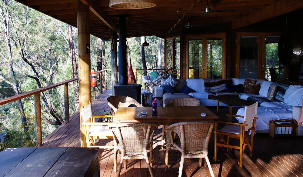 Feeling social? Common area, Billabong Retreat.