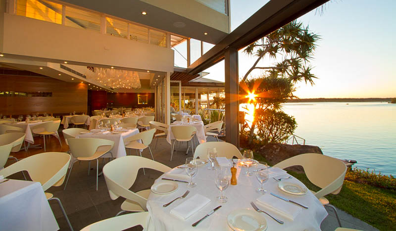 A view you could eat: Ricky's Noosa.