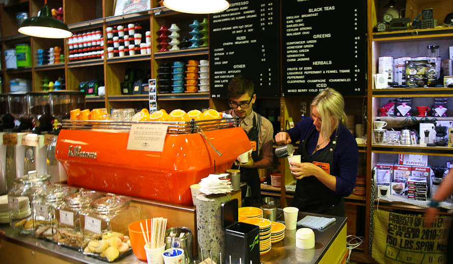 Belmondos Whole Foods is the ticket if you're after fine Arabica coffee around Noosa.