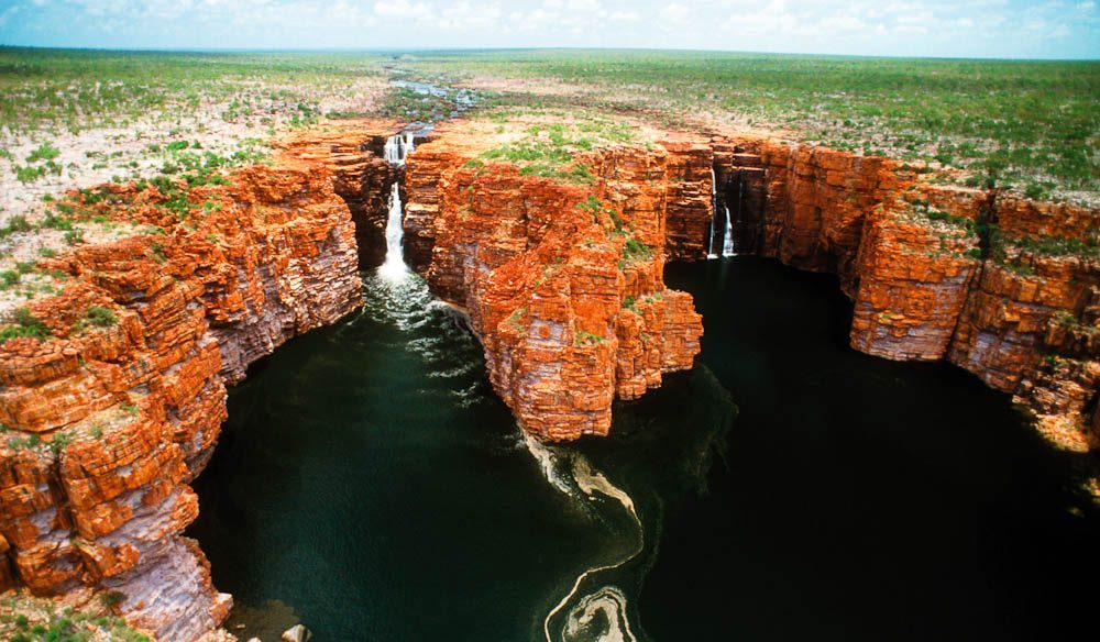 King George Falls, North Kimberley Coast.