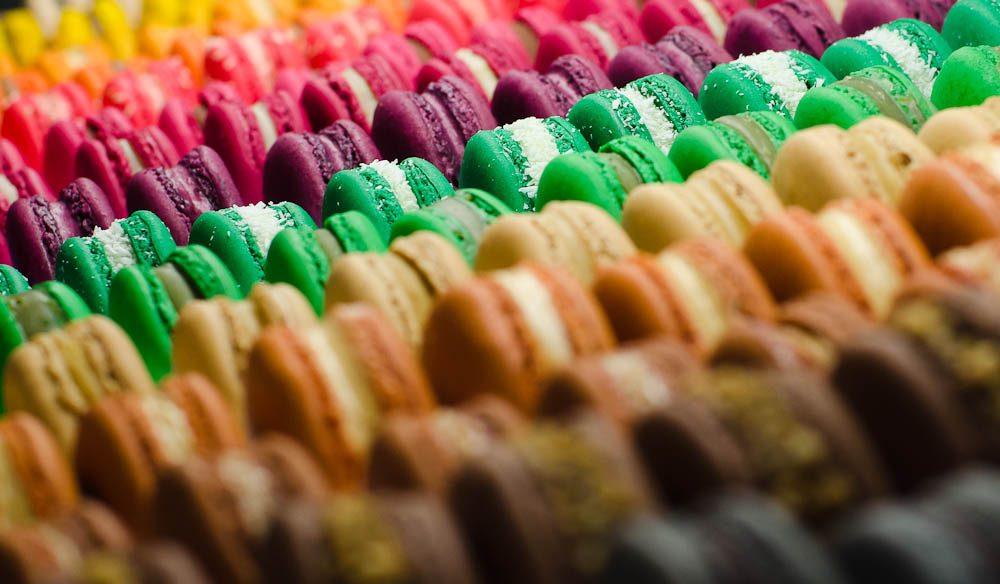 Macarons from LuxBite, South Yarra, might be the sugar hit you need to continue exploring the area.