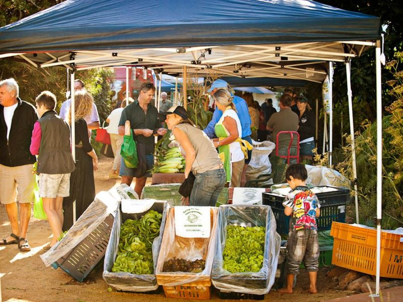 Fresh is best: Margaret River Farmers' Markets.