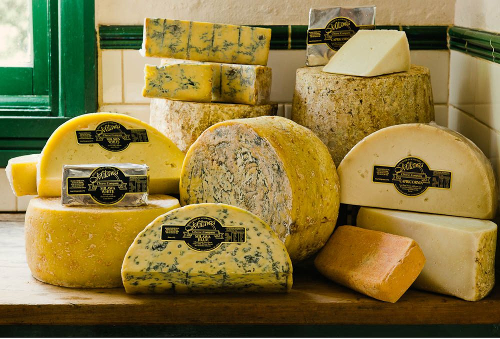 Milawa Blue is a must if you stop off at the Milawa Cheese Company.