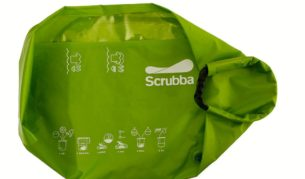 Scrubba: Pocket-sized washing machine for $59.95.
